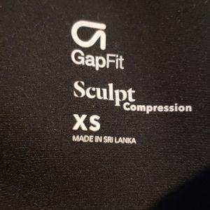 GapFit Sculpt Compression SizeXs Black